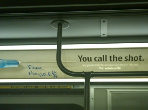 Toronto Subway ad